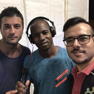 Trapani Pop Festival 3^Serata Intervista a Bah mediatore SPRAR Bonagia  (parte2)