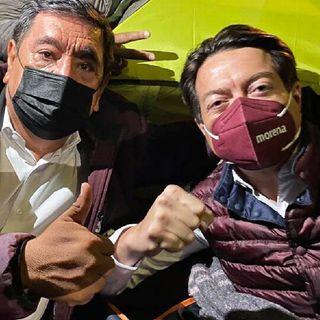 Mario Delgado confía en el INE por el caso de Félix Salgado