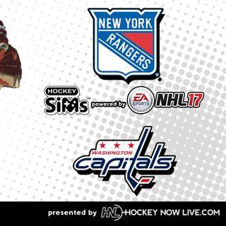 Rangers vs Capitals (NHL 17 Hockey Sims)