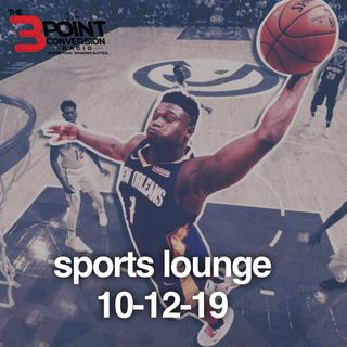The 3 Point Conversion Sports Lounge- Is Zion Really This Good, College Football Big Games, NFL Counterfeit Teams, Nationals Are Hot