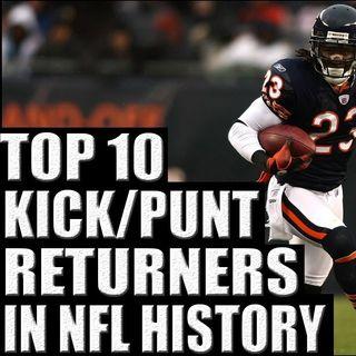 Top 10 Return men in NFL history!