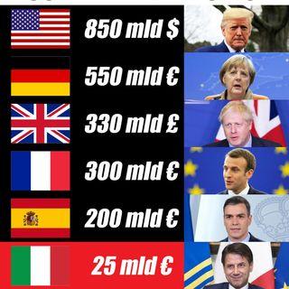 Coronavirus: perché l'Italia sembra stanziare meno soldi degli altri