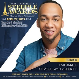 "Vote Levi Harrell ""Best In Media"" TheSteepleAwards.com 