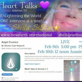Heart Talks Guest Sheena-Gaye Rogasch