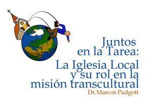 La iglesia local y su rol en la misión transcultural - Audio