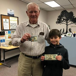 Eight-Year-Old Boy Finds Lost $100 Bill, Returns It To 86 Year-old Man
