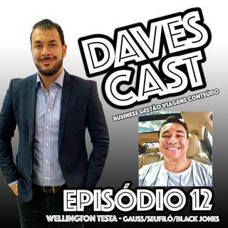 DAVESCAST EPISODIO 12 - BATE PAPO COM  WELLINGTON TESTA (GAUSS / SEU FILÓ)