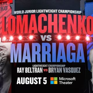 Inside Boxing Weekly:Lomachenko-Marriaga Preview, Look back at Garcia-Broner