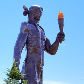 38. Glooscap Combatte il Mostro dell'Acqua - Leggenda dei Nativi Americani