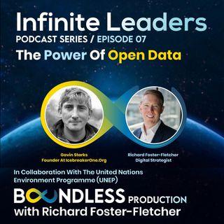 EP7 Infinite Leaders: Gavin Starks, Founder at IcebreakerOne.org: The power of Open Data