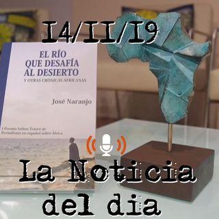 El I Premio Saliou Traoré reconoce la labor informativa de José Naranjo | La Noticia Del Dia