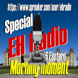 EHR 804 Morning moment SPECIAL An interview with Michael Swinwood April 16 2021