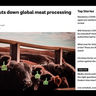Cyberattack Shuts Down the Biggest Meat Producer in the World w/ Christian from The Ice Age Farmer
