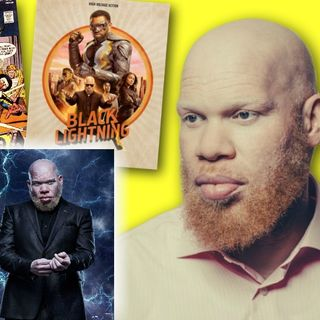 "#267: Marvin ""Krondon"" Jones III on rap music and taking on superheroes as the big bad on Black Lightning!"