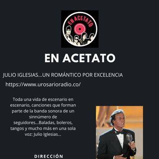 Julio Iglesias cinco décadas cantándole al amor