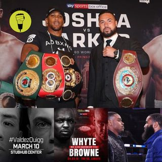 Joshua v Parker Press conference & Spence Jr Defends IBF