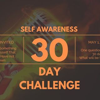 S3 / Ep. 17 30 Day Self-Awareness Chaellenge