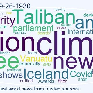 World News 2021-09-26-1930