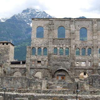Audioviaggio 12 - Aosta. Oggi Book Your Italy è in VAL D'AOSTA
