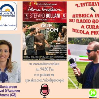 L'INTERVISTA - 1 - 08-11-2018 - ANTONIETTA SANTACROCE