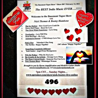 Show #496 - February 14, 2021 HAPPY VALENTINE'S DAY!