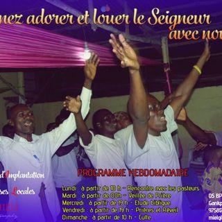 Culte d'adoration de l'église MIEL
