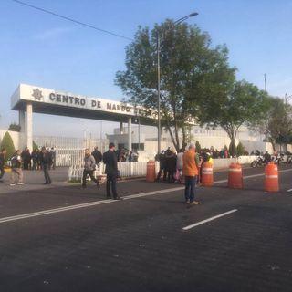 Policías Federales bloquean Periférico