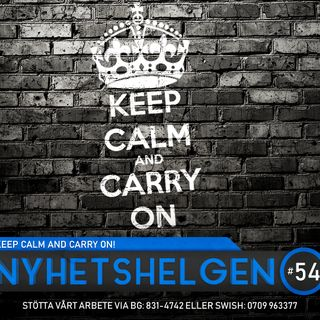 Nyhetshelgen #54 - Keep calm and carry on!, svensk inbilskhet, Dr Tengele