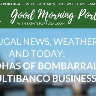 Buddhas of Bombarral & Multibanco business on Good Morning Portugal!
