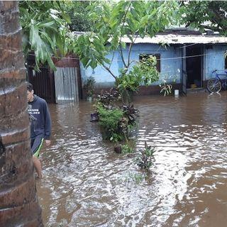 Dos fallecidos y 534 familias afectadas por lluvias en Nicaragua