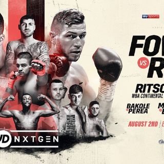 Preview Of The UK Card JDNxtGen Headlined By Anthony Fowler-Brian Rose For The WBO Intercontinental Middleweight Title Live On Sky Sport's!!