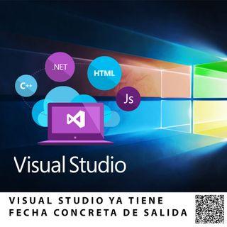 VISUAL STUDIO YA TIENE FECHA CONCRETA DE SALIDA