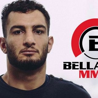 Gegard Mousasi at the Bellator 185 Media Day.