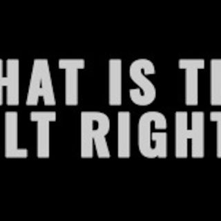 Tufts University talk: What is the Alt Right?