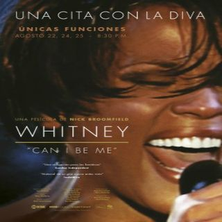 Invitados a Cineco Alternativo con la vida de Whitney Houston