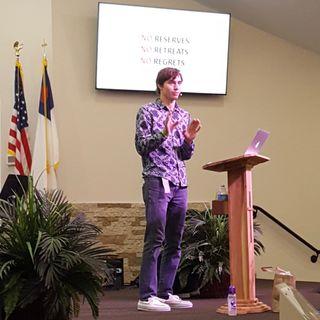 Joshua Santerelli preaches for Fathers Day 2020