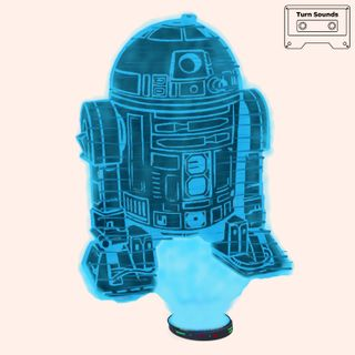 Astromech with Icecream Maker-core