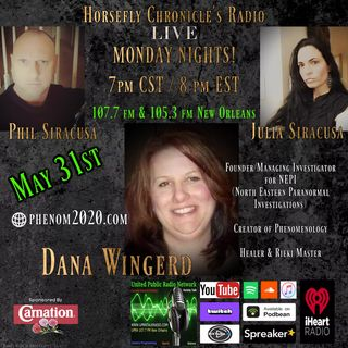 Horsefly Chronicle's Radio Join Julia and Philip Live this Monday Guest Dana Wingerd