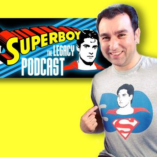 #396: Superboy: The Legacy Podcast host Sam J. Rizzo joins me for Podcast Appreciation Week!