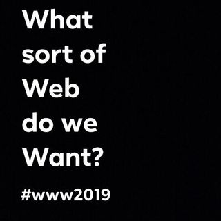 What Sort of Web Do We Want?