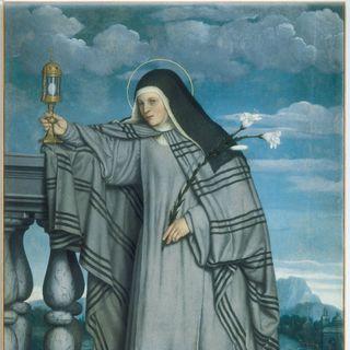 Giovanni Battista Moroni, Santa Chiara