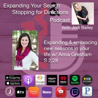 Expanding Your Patience in Difficult Seasons with Anna Gresham. S2.28