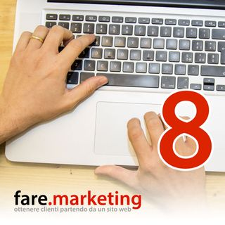 Siti web singola pagina. Aiutano lato SEO? - Fare Marketing podcast#8
