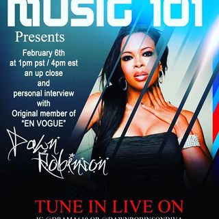 Dawn Robinson interview with your host Drama610