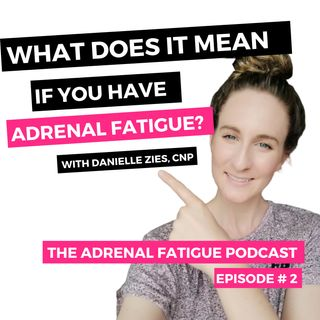 "Episode #2: What does it mean if you have ""Adrenal Fatigue"""