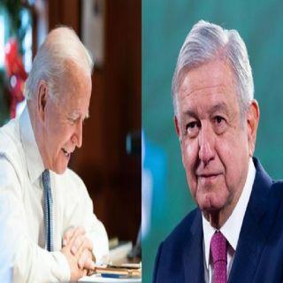 Primera llamada entre AMLO y Biden