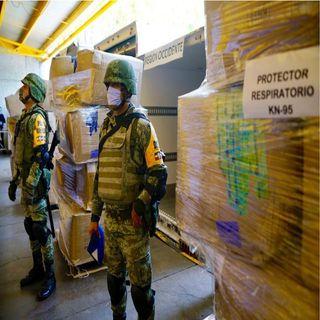 IMSS inicia distribución de mascarillas a su personal