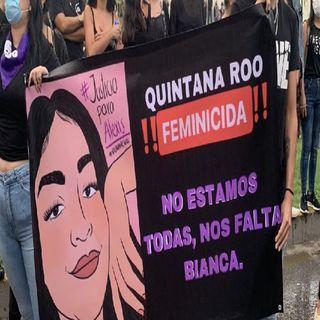 Grupo de mujeres exigen justicia por feminicidio de Alexis