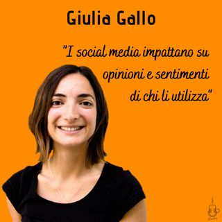 Ep.5 Giulia Gallo - Social Media Manager