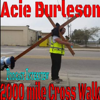 Carrying the cross for 2000 miles - Acie Interview